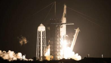 NASA的SpaceX Crew-1宇航员前往国际空间站