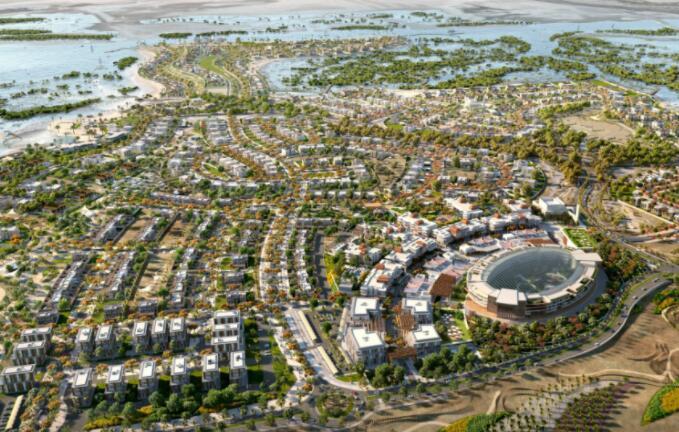 Jubail Island正在进行的价值2.04亿美元的住宅和零售综合体设计项目