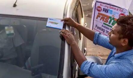 Nitin Gadkari说Fastag从1月1日起对车辆强制