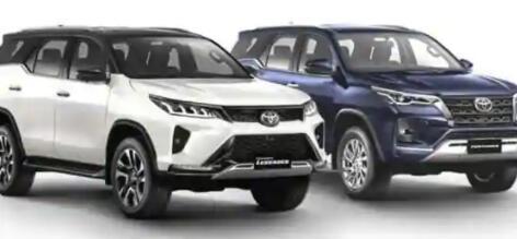 2021年丰田Fortuner改款车型在发布前泄漏