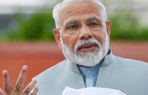印度总理在上周二下午4:30的印度国际科学节上致开幕辞