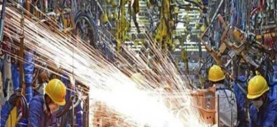 11月份工业生产合约下降1.9%