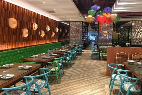 法庭上的越南餐厅
