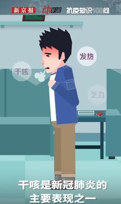 干咳嗽是新冠肺炎关键的主要表现之一