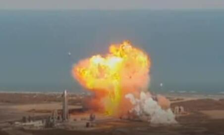 SpaceX尝试发射和降落Starship原型火箭SN9
