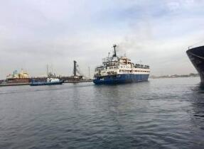 运送不健康牲畜的船舶被迫离开的黎波里港口返回西班牙