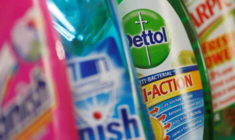 消毒剂使Reckitt Benckiser的销售额创历史新高