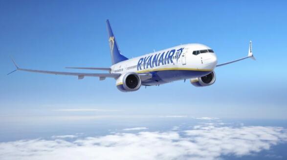 瑞安航空将2021年亏损预期降至8亿到8.5亿欧元之间