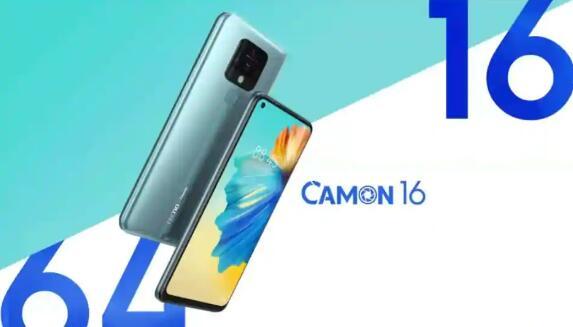 特克诺Camon 16将于10月10日在印度推出 这是可以期待的