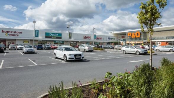 三个爱尔兰零售园区挂牌出售 售价7800万欧元