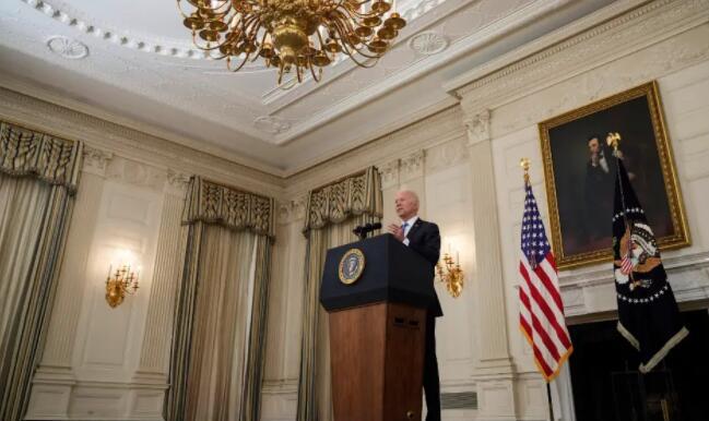 拜登说他的美国救援计划只是我们如何建立经济的一个例子