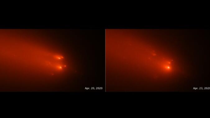 阿特拉斯可能是5000年前掠过地球的远古彗星的碎片