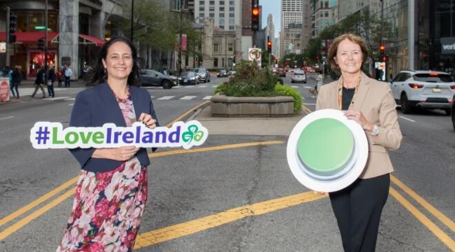 爱尔兰旅游部长在美国宣传爱尔兰
