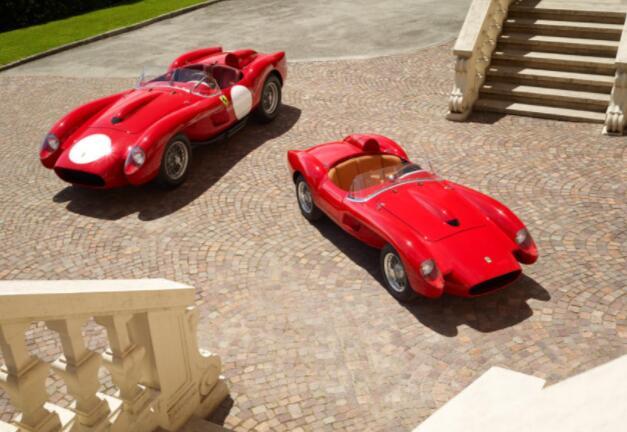 法拉利Testa Rossa J是75%比例的1950年代赛车手的EV复制品