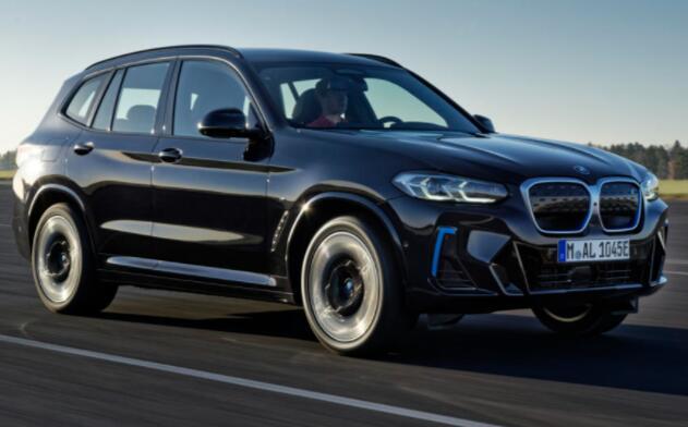 全新2021款BMW iX3更新价格从59730英镑起