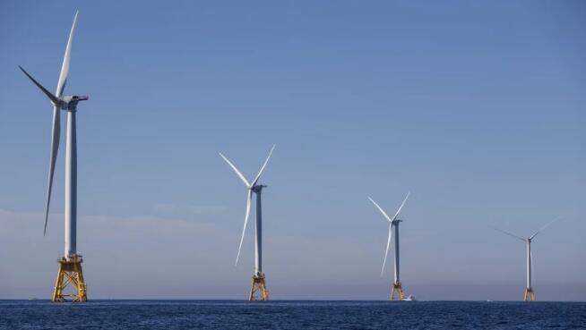 美国宣布建设七个主要海上风电场的计划