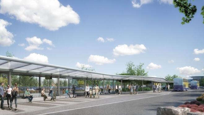 Sod为利夫伊河谷启用了价值2000万欧元的巴士换乘设施